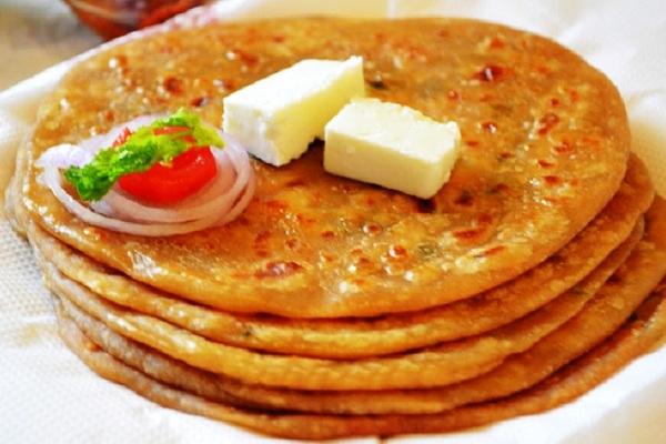 طريقة عمل خبز البراتا الهندي