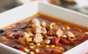 حساء الفاصولياء