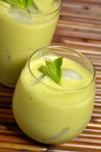 Green Devil - avocado smoothie