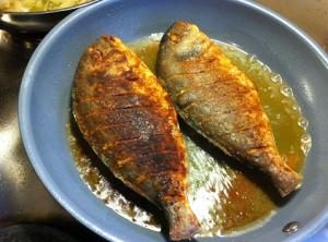 السمك المقلي العراقي