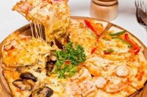 بيتزا السمك