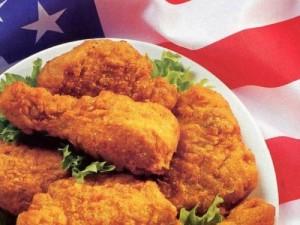 دجاج محمر على الطريقة الامريكية