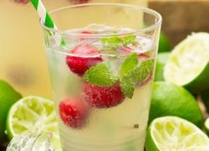شراب الليمون الاخضر