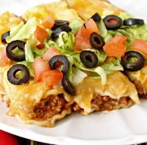 بيتزا اللحم المكسيكية