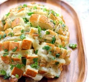 قالب الخبز بالجبنة