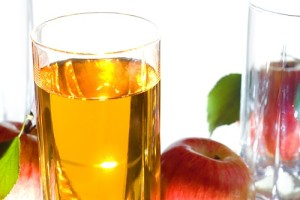 عصير التفاح المنعش