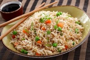الأرز المقلي