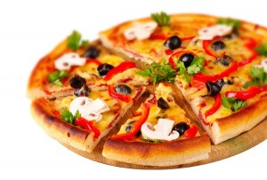 بيتزا المطاعم
