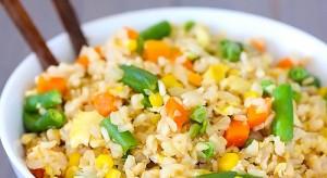 الأرز بالخضار