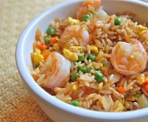 أرز بالجمبري
