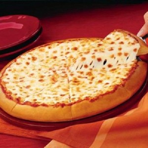 بيتزا البصل والجبنة