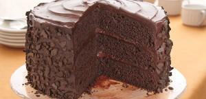 كيكة طبقات الشوكولاته