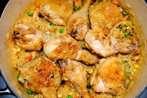 وصفات ارز بالدجاج