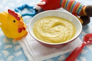 شوربة العدس بالجبن للرضع