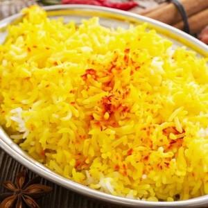 ارز بالزعفران ايراني