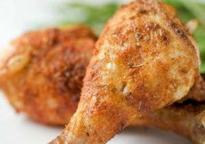 افخاذ الدجاج المقرمشة