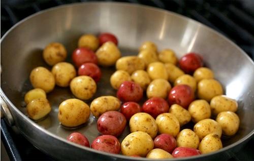 افضل انواع البطاطس المقليه بالصور طريقة