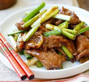 ستيك اللحم بصوص الصويا منال
